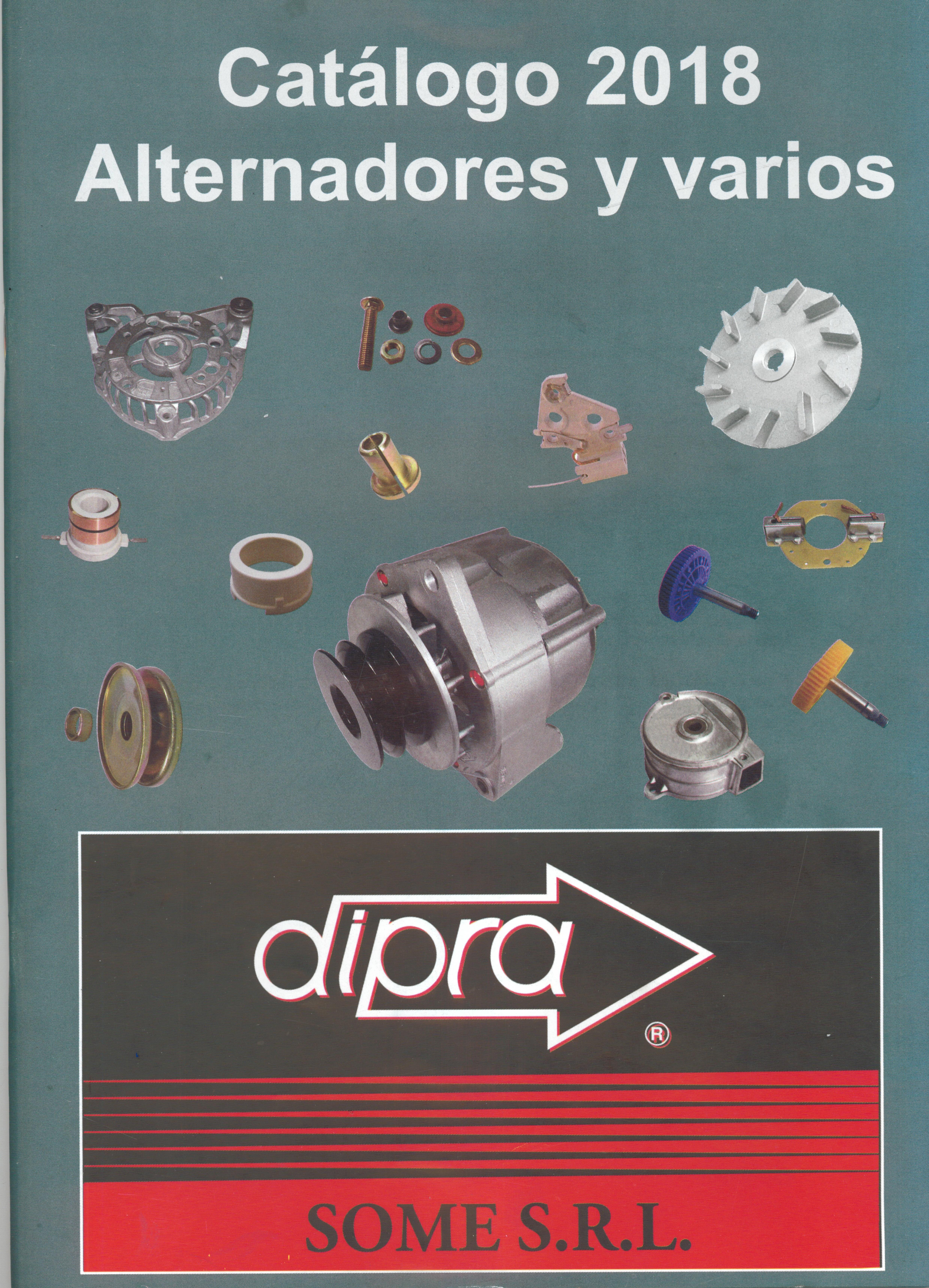 CATALOGO ALTERNADORES Y VARIOS