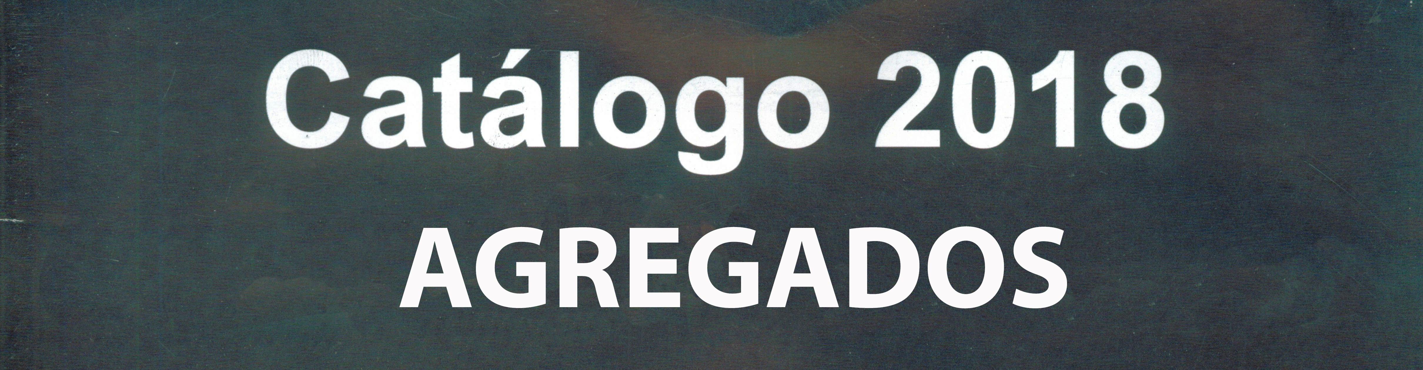 AGREGADOS CATALOGO 2018 (SETIEMBRE 2021)